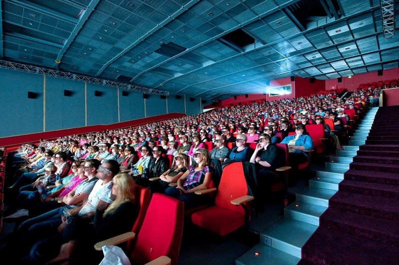 QSC Boosts New Cinemec XL 3D Cinema, Ede (Olanda)