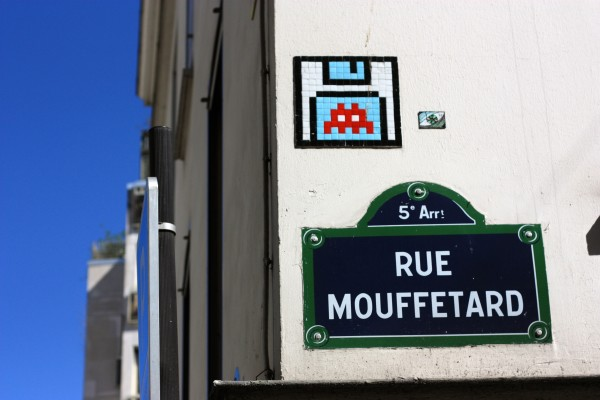 Space Invader, photo by Aurélien Michaud
