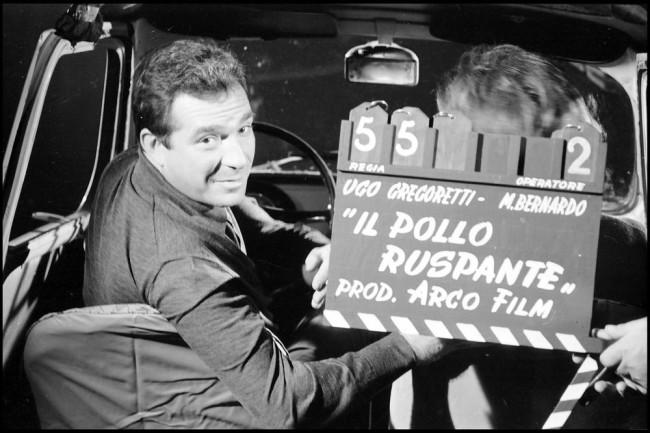 Il pollo ruspante (di Ugo Gregoretti), episodio del film Ro.Go.Pa.G. (di Rossellini, Godard, Pasolini, Gregoretti, 1963), ph. Divo Cavicchioli (Centro Cinema Città di Cesena)