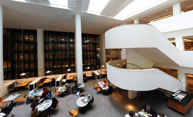LONDRA – British Library. Photo by Andrew Dunn
