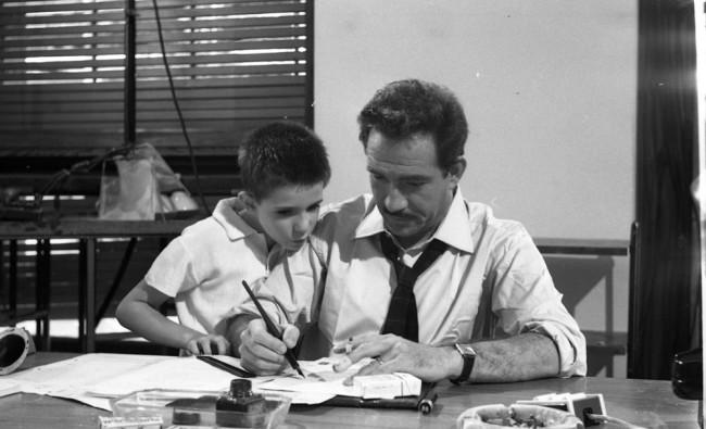 L'educazione sentimentale, episodio del film I mostri (di Dino Risi, 1963), ph. Rodrigo Pais (Archivio Guido Gambetta)