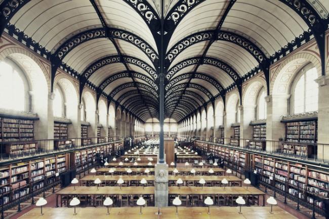 PARIGI - Bibliothèque Sainte-Geneviève. Photo by Franck Bohbot