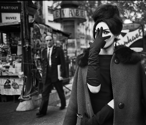 Christer Strömholm. Nana, Place Blanche, Paris, 1961 © Christer Strömholm/Strömholm Estate, 2014