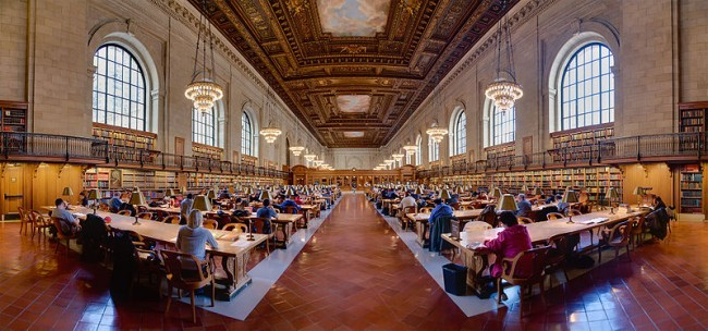 NEW YORK – Public Library Photo by David Iliff