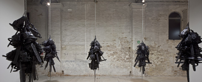 Monica Bonvicini, Latent Combustion. Lame, seghe elettriche