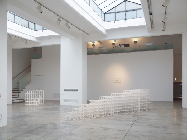 Sol LeWitt, le opere in mostra alla Cradi Gallery di Milano. Courtesy: la galleria. Photo credit: Elena Bodecchi