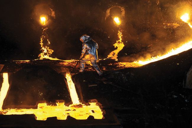 Matthew Barney, River of Fundament. Photo Hugo Glendinning