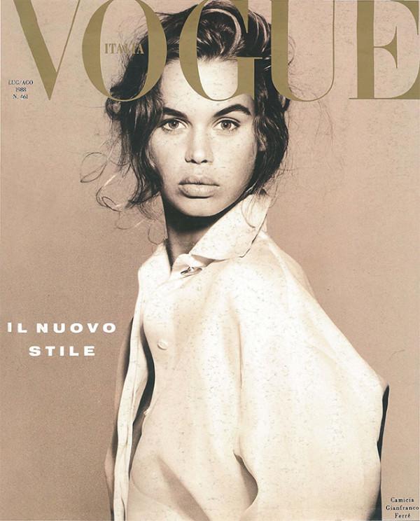Vogue Italia Luglio 1988 - Courtesy of CondèNast. 7. ©Foto di Steven Meisel