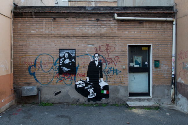 Blek le Rat, Wunderkammern, Roma, 2015 ®blindeyefactory