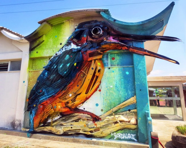 Bordalo II, courtesy Forgotten
