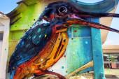 Street artist portoghesi a Roma per il progetto Forgotten: arriva Bordalo II