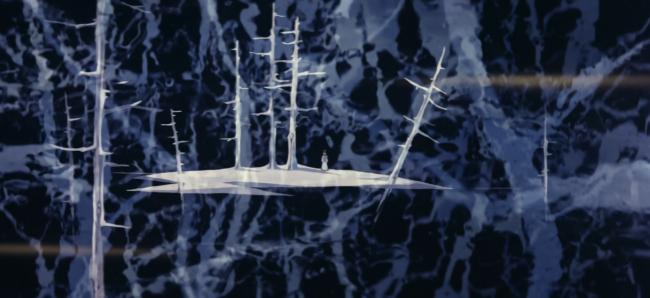 """screenshot da """"La grande avventura del piccolo principe Valiant"""""""