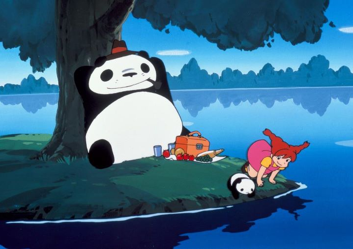 scena tratta da Panda! Go, panda!, Tokyo Movie Shinsha, 1972