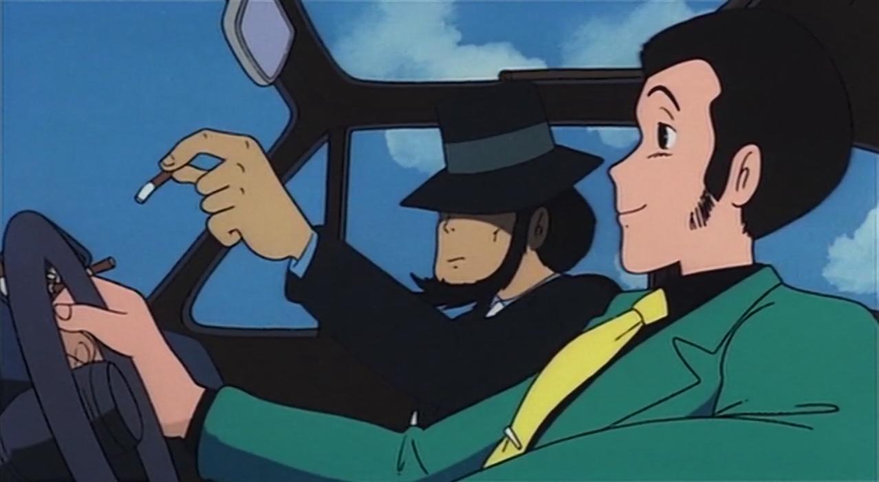 scena tratta da Lupin III Il castello di Cagliostro, Tokyo Movie Shinsha, 1979