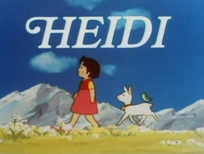 scena tratta da Heidi, Zuiyo Eizo, 1974