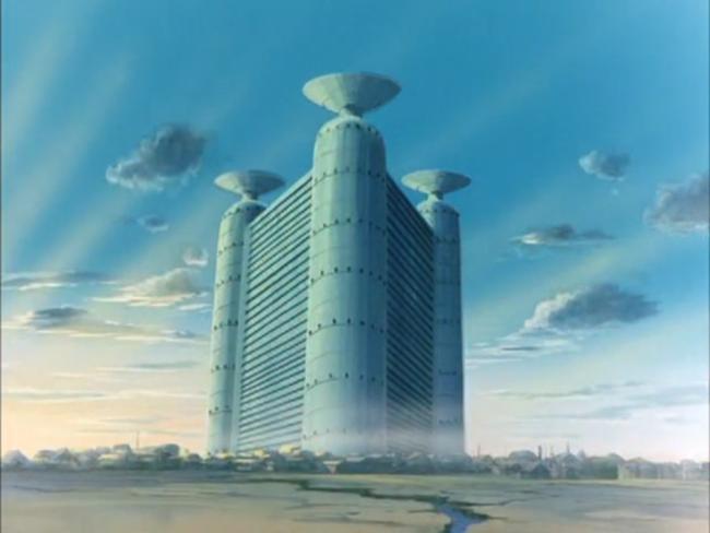 veduta di Industria, scena tratta da Conan il ragazzo del futuro, NHK TV, 1978