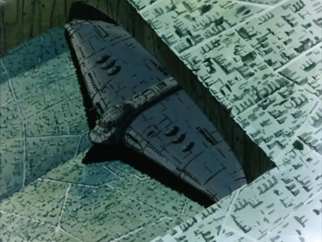 il Giganto, scena tratta da Conan il ragazzo del futuro, NHK TV, 1978