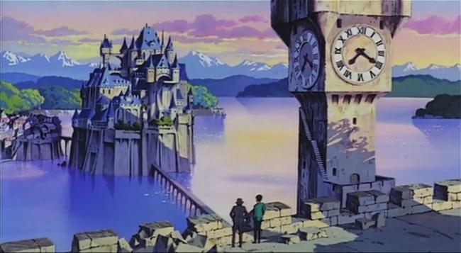 scena tratta da Lupin III Il castello di Cagliostro, TMS Entertainment, 1979