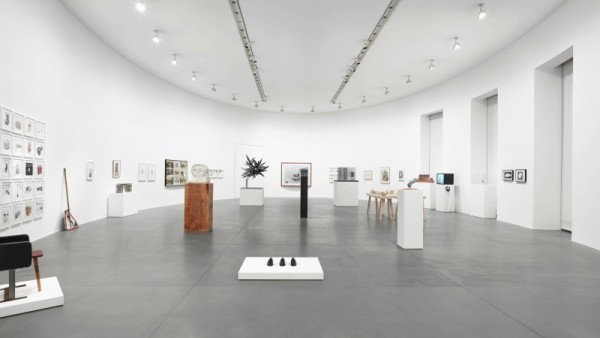 Visione della mostra Prototypology, An Index of Process and Mutation, Gagosian Gallery, Roma