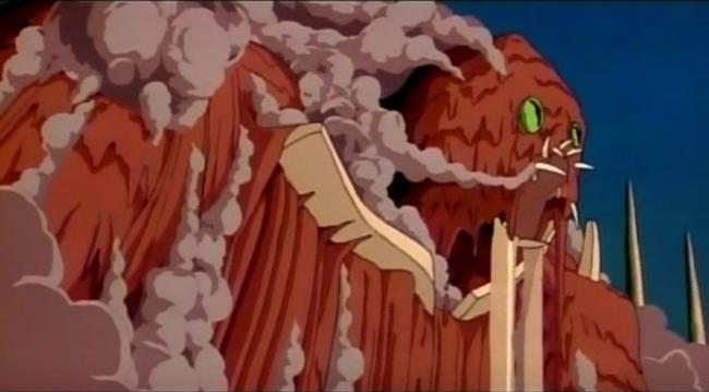 scena tratta da Nausicaa della Valle del vento, 1979