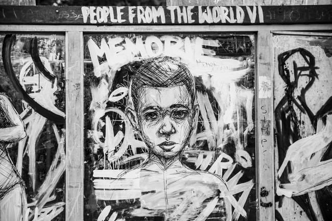 Frederico Draw, Gaeta - Memorie Urbane 2016 © Arianna Barone