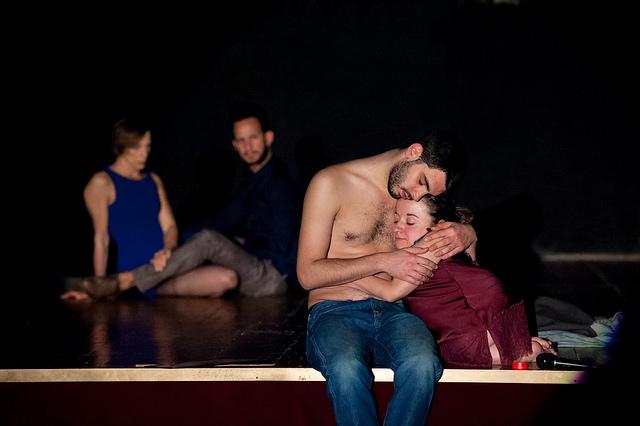 Babilonia Teatri, David è morto, foto di Eleonora Cavallo, 2015