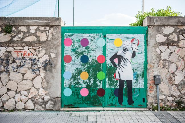 Kunstrasen, Gaeta, Memorie Urbane 2016 © Flavia Fiengo