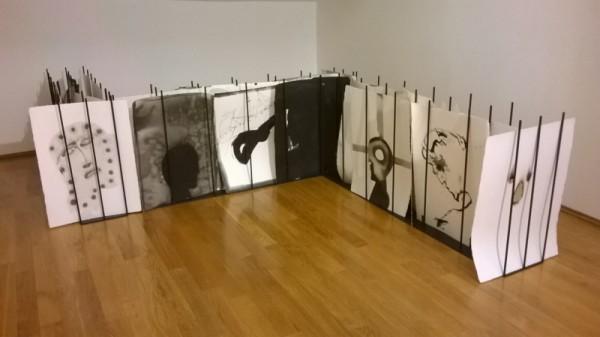 Mimmo Paladino, installazione dedicata alla Divina commedia, Museo del Novecento, Milano