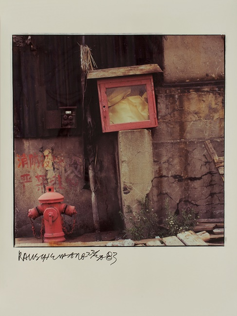 Rauschenberg in China plight