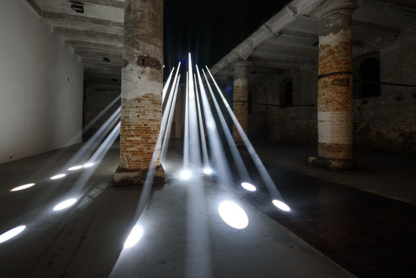 Transsolar with Anja Thierfelder. Local identity – exploring a forgotten resource. 15. Mostra Internazionale di Architettura - La Biennale di Venezia,REPORTING FROM THE FRONT. Photo by: Andrea Avezzù. Courtesy: La Biennale di Venezia