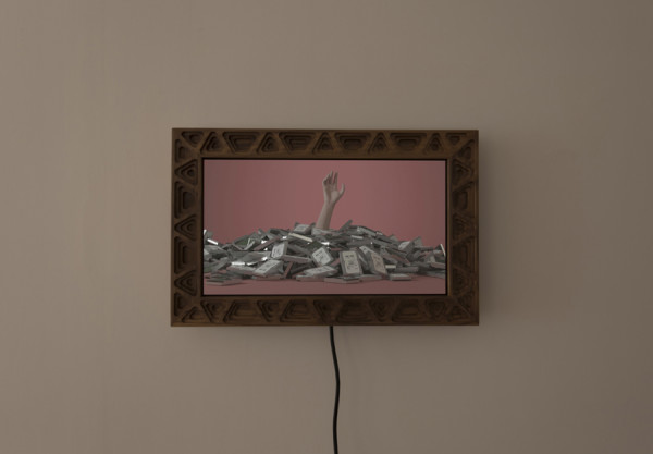 Zack Dougherty, Dataphobia, animated gif and digital frame, 2016, foto di Francesco Basileo