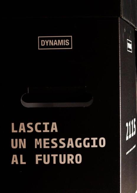 Il raccoglitore di messaggi di Dynamis per la performance 2115, Lago Film Fest 2016