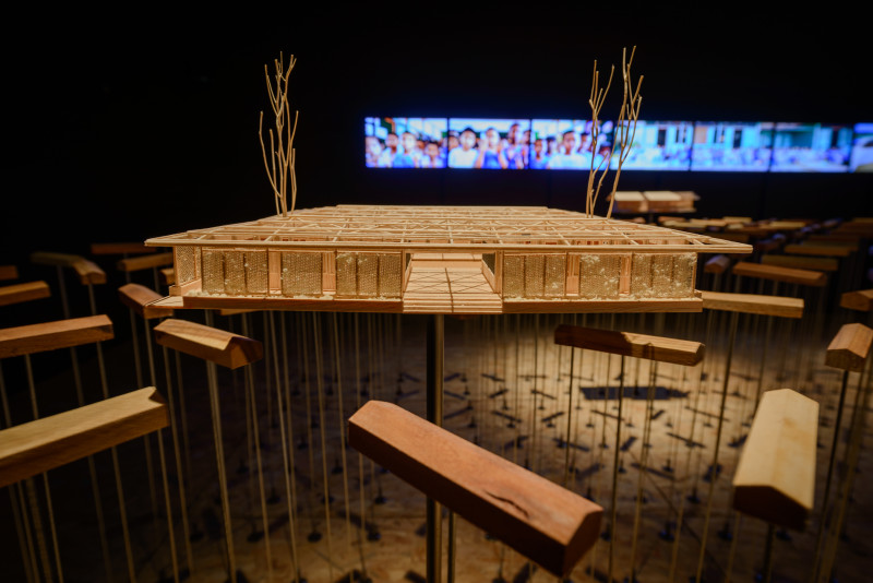 THAILAND, Class of 6.3 Rebuilding Nine School after the 2014 Chiang Rai Earthquake. 15. Mostra Internazionale di Architettura - La Biennale di Venezia, REPORTING FROM THE FRONT. Photo by: Andrea Avezzù. Courtesy: La Biennale di Venezia