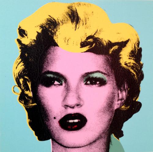 Banksy, KateMoss, Andipa Gallery