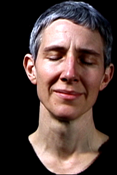 mostra Moving Tales, Bill Viola, Remembrance, 2001 video, 49x38x6 cm still from video