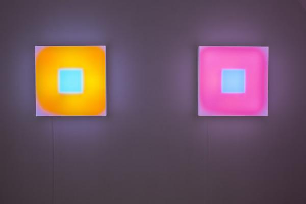 Lightboxes, Brian Eno. Foto Piero Cremonese