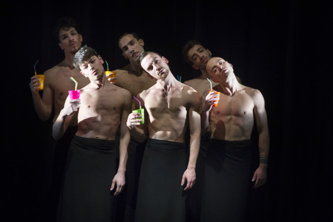 Körper, Aestethica – esercizio 1, foto Francesco Squeglia. Courtesy Kilowatt Festival