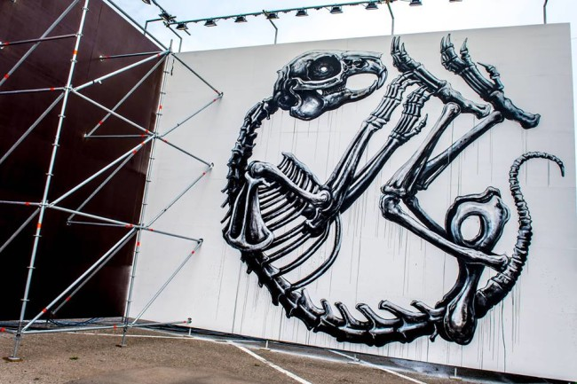Roa, Street Music Art. Courtesy Street Music Art