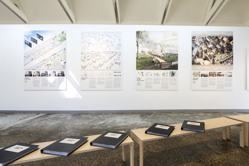 FINLAND (Aalto pavilion), From Border to Home -  Housing Solutions for Asylum Seekers . 15. Mostra Internazionale di Architettura – La Biennale di Venezia, REPORTING FROM THE FRONT. Photo by: Francesco Galli; Courtesy: La Biennale di Venezia