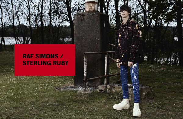 Raf Simons FW 2014 ad campaign – ph. Willy Vanderperre