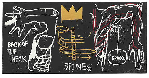 Jean-Michel Basquiat 18_Basquiat-BackoftheNeck-1983