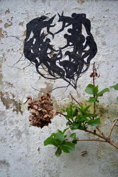 David de la Mano, atelier exterior. Courtesy Wunderkammern