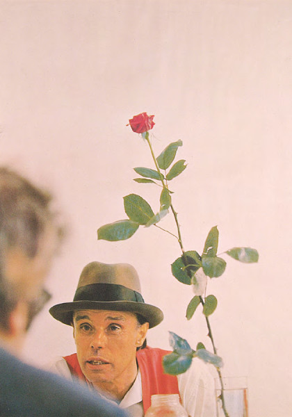 We won't do it without the rose Joseph Beuys