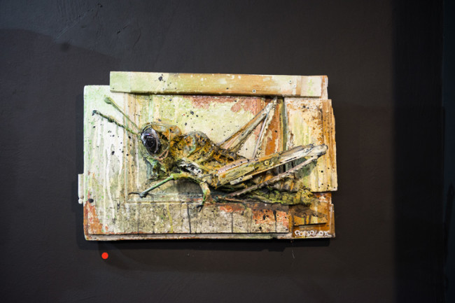 Bordalo II, Grasshopper, Square23, Torino, ph. Livio Ninni