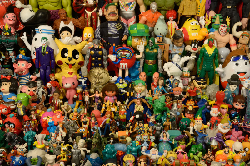 Collection de jouets et de figurines d'Hervé Di Rosa, 2016, @ Adagp / Pierre Schwartz
