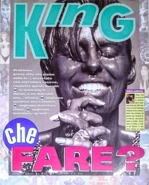 ©King luglio 1991 - Courtesy of EdizioniERI-RAI