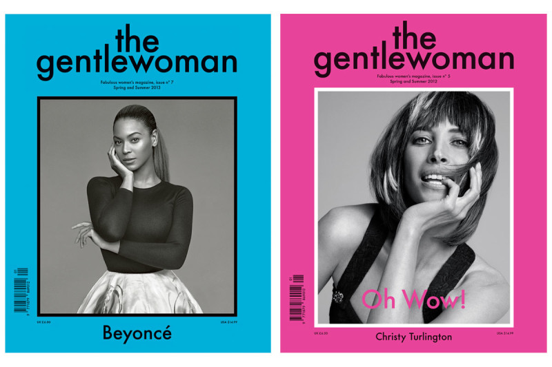 © Courtesy of The Gentlewoman SS2013, Beyoncéph. by AlasdairMcLellan e SS 2012, Christy Turlingtonph. byInez and Vinood