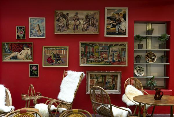 Plus jamais seul, Hervé Di Rosa et les arts modestes, visione della mostra alla Maison Rouge, credit: @ Marc Domage