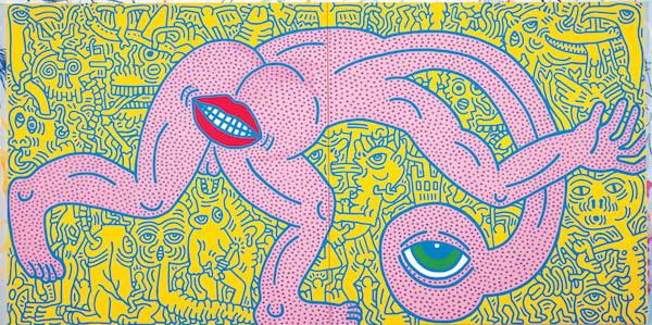 18 - Keith Haring