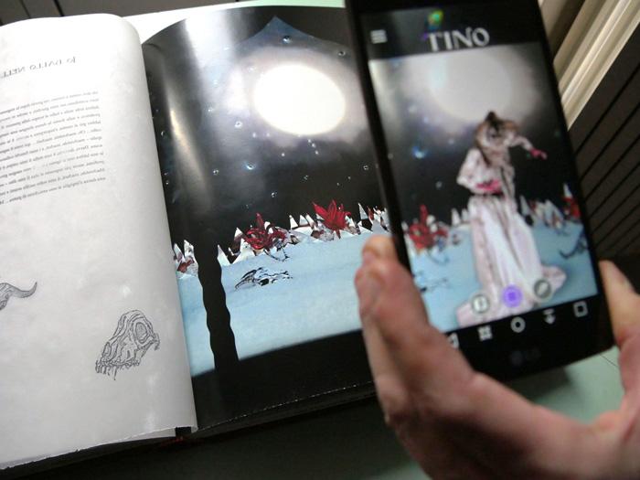 ConiglioViola – Le notti di Tino Bagdad Installazione in realtà aumentata